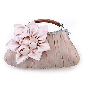 Frauen Organza/Satin Casual/Event/Party/Hochzeit Abend Tasche Weiß/Rosa/Lila/Rot/Grau/Schwarz/Khaki Blushing Pink