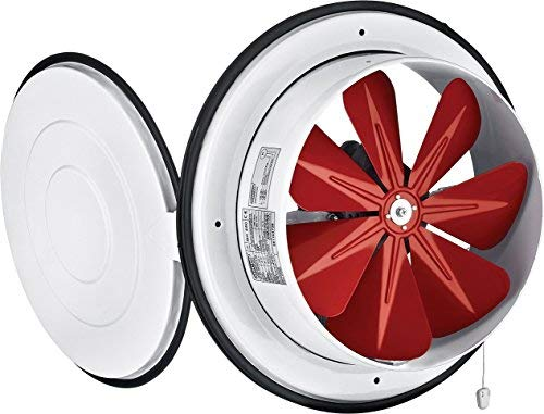 Ventilator Lüfter Gebläse mit Klappe Wandventilator Fensterventilator ø200mm 780m³/h