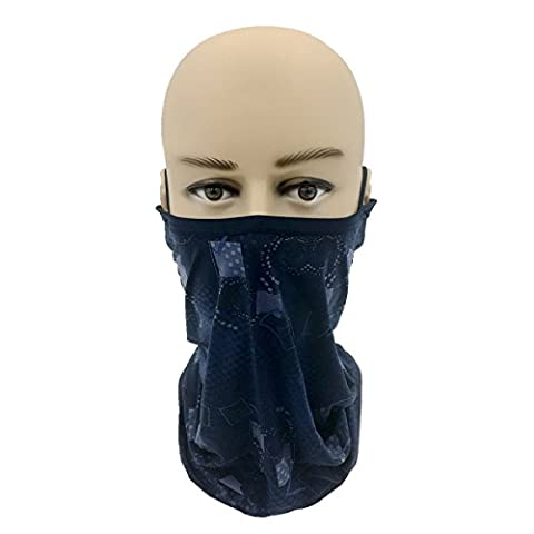 JuneJay Cool Sun Protection UV Resistant Motorcycle Balaclava Mask Scarf for Fishing,Cycling,Hiking,Camping,Climbing,Hunting,Motorcycling,Tracking,Jogging 2017 New Products! (Grey)
