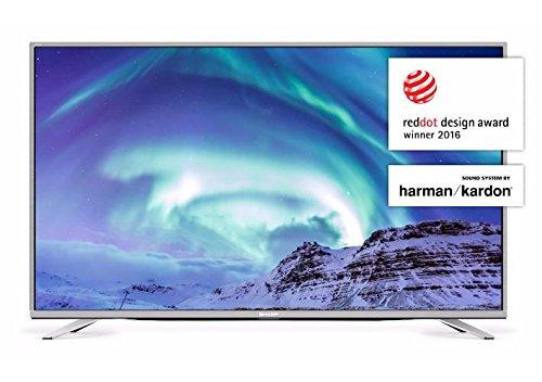 SHARP LC-55CUF8472 139,7 cm (55 Zoll) 4K Ultra-HD Smart Fernseher (Triple Tuner DVB-T/T2HD, DVB-S/S2, DVB-C, HEVC H.265)