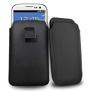 Accessory Master Housse en simili cuir pour Samsung Galaxy S3 Noir