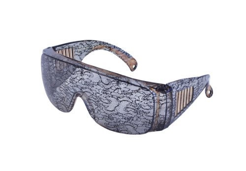 Imagen de lace print lady gaga glasses sunglasses celeb fancy dress accesorio de disfraz