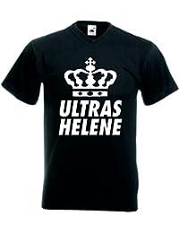 T-Shirt Helene Fanshirt für Echte Fans Farbe Schwarz für Frauen Männer und Kinder