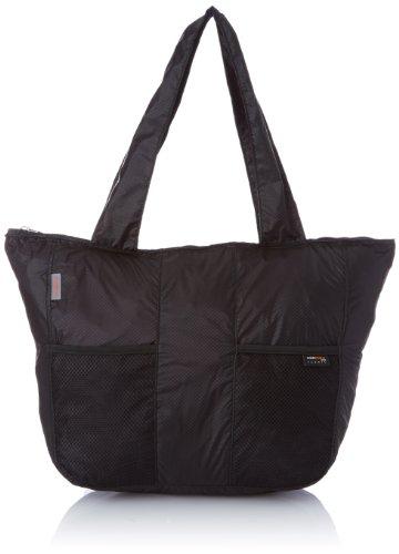 Samsonite Travel Accessor. V Fold Up Tote Bag Sacca impermeabile, Nero (Nero)