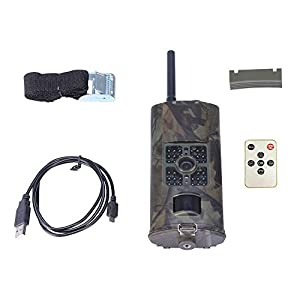 MINKOO HC-700G 3G Hunting Camera Waterproof 120 Degrees Wide Angle Hunting Video Monitoring Camcorder Wildlife Trail Observing Camera