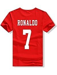 VIOY Camiseta de Manga Corta Brasil Fútbol Estampado Jersey Ronaldo,Ronaldo,XXXL