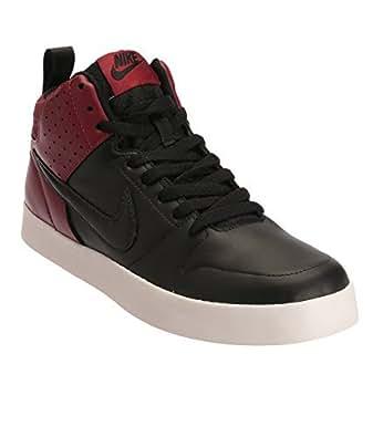 33d5ce7ce6dc ... NIKE LITEFORCE III MID SL Black Black Red Casual Sneakers -8 UK India  (42.5 EU)(9