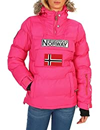 Geographical Norway Anson_woman Chaquetas Mujer Rosa 4