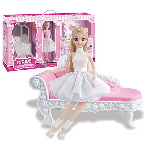 rprise Big Set Gift Box Dress Up Sweet Home Girl Birthday Gift Toy Birthday Gift ()