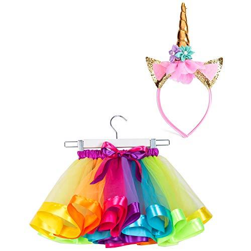 SunTrader Girls Layered Rainbow ...
