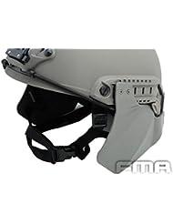 Worldshopping4U Tactical Airsoft up-armadura protectora ulva lateral para rápido y casco FG funda, sin casco