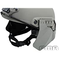 Worldshopping4U Tactical Airsoft headphonics lateral sube armadura protectora para casco Fast Rail FG, sin casco