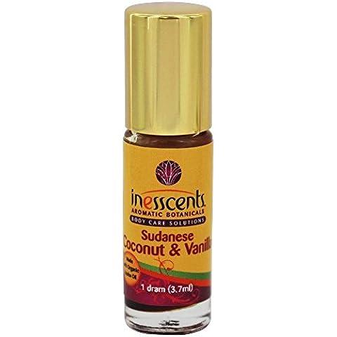Inesscents Aromatic Botanicals - Perfume Natural petróleo sudanés coco & vainilla - 1 copita
