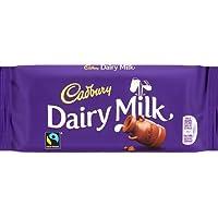 Cadbury Bares Latteria de leche de chocolate (110g)