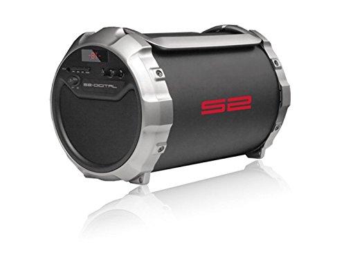 S2-Digital S-Tube XL Bluetooth Outdoor Lautsprecher mit FM Radio