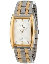 Titan Regalia Analog Silver Dial Men's Watch - NE1163BM01