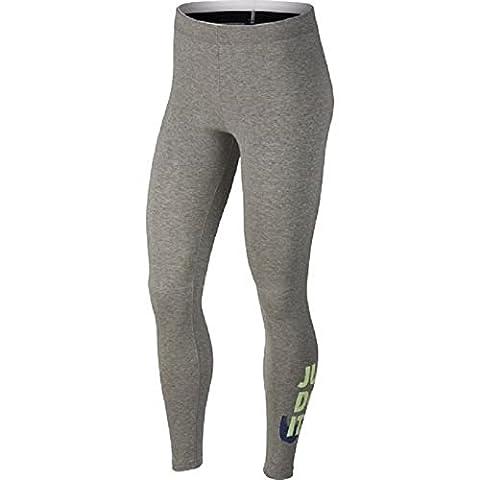 Nike Damen Hosen / Legging Club JDI grau S
