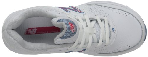 New Balance - - Damen 840 Schuhe White With Pink & Light Blue