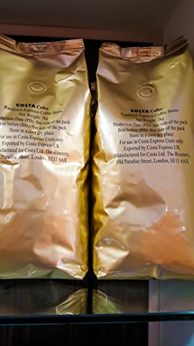 Costa Coffee Rainforest Espresso Beans 1kg