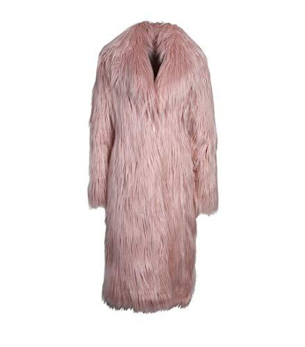 JAKKE Damen Mantel aus Kunst-Pelz in Rosa pink 8 Luxe Blouson