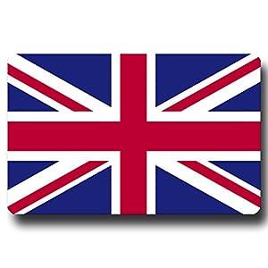 Kühlschrankmagnet Flagge Union Jack – 85×55 mm – Metall Magnet mit Länderflagge UK United Kingdom für Kühlschrank Souvenir