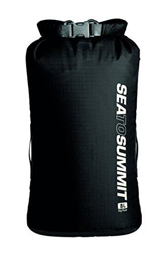 Sea to Summit Erwachsene Big River Drybag 8L, schwarz, Volumen 8 Liter, 420D Ripstop Nylon, TPU Laminat, Hypalon Schlaufen Packsäcke, Mehrfarbig, One Size -
