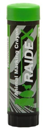 RAIDEX GMBH - Crayon à marquer RAIDEX étui plastique Vert - Boîte de 10