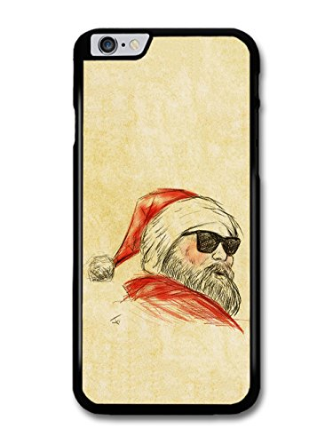 Christmas Santa Claus Sunglasses Wayfarer Sketch Original Art hülle für iPhone 6 Plus 6S Plus