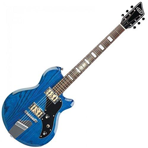 SUPRO 2022TB Westbury Transs Blue Baritongitarre - Westbury Music