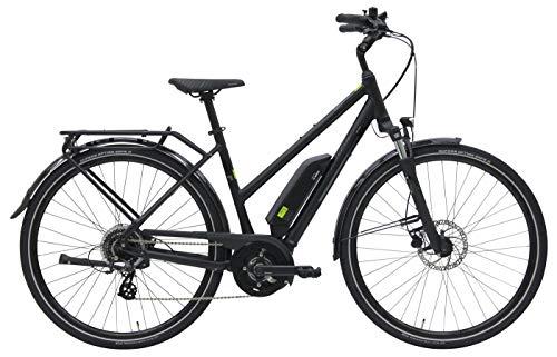 Damen E-Bike 28 Zoll - Pegasus Solero E8 - Pedelec Bosch Active Line Plus Mittelmotor, Akku 400Wh, Shimano Schaltung, schwarz