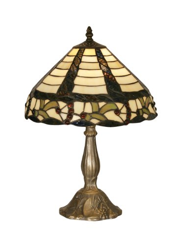 Oaks Lighting OT 7020/12 TL Sawyer Tiffany Table Lamp