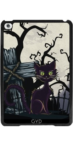 ad Mini 4 - Vintage Halloween-Friedhof Katze by Gatterwe ()