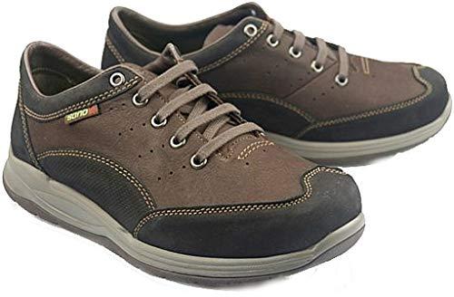 Mephisto Sano Omega Black Brown Combi Nubuck Walking and Rolling Shoe for  Men (40.5 EU bc20817f5cc