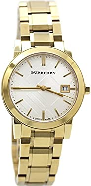 Burberry Watch, Women's Swiss Gold Tone Stainless Steel Bracelet 34mm BU