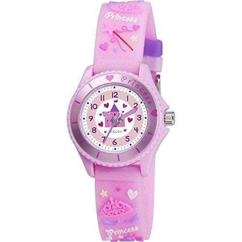 Nana 's Party Versand Schnell Kinder Uhren–Auswahl von Themen und Farben–Mädchen & Jungen (Geschenk, Uhr, Tikkers) Princess Castle - Pink (TK0036... (Schokoladenformen Lollipop)