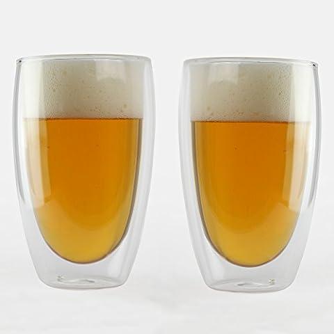 KOFFI ® KUP - Double Walled Glasses 450ml (15.8oz) -