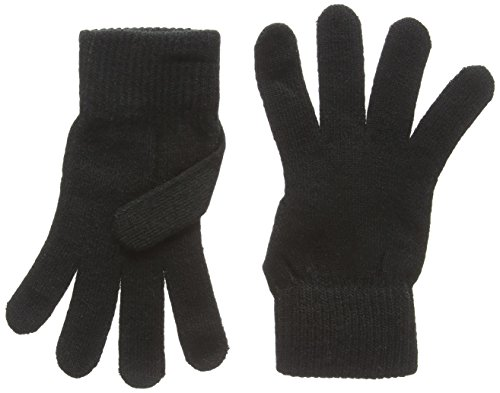 Adults Magic Stretch Gloves in Black. Ideal Winter wear.