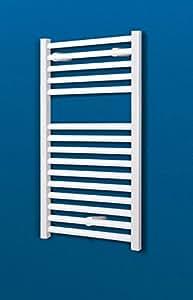 bad heizk rper toskana 70x40 cm 256 watt leistung anschluss unten alpin wei handtuchhalter. Black Bedroom Furniture Sets. Home Design Ideas