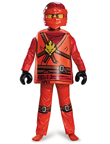Imagen de disfraz kai ninjago deluxe lego niño alternativa