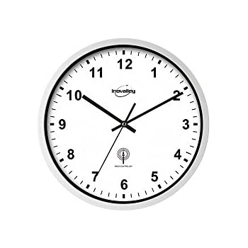 Pendule radio pilotee horloge murale radiopilotee for Pendule de cuisine amazon