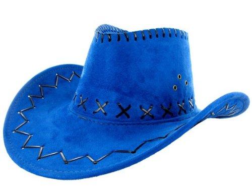 AUSTRALIEN TEXAS HUT alle farben, farbe:blau 26 (Western Kostüme Australien)