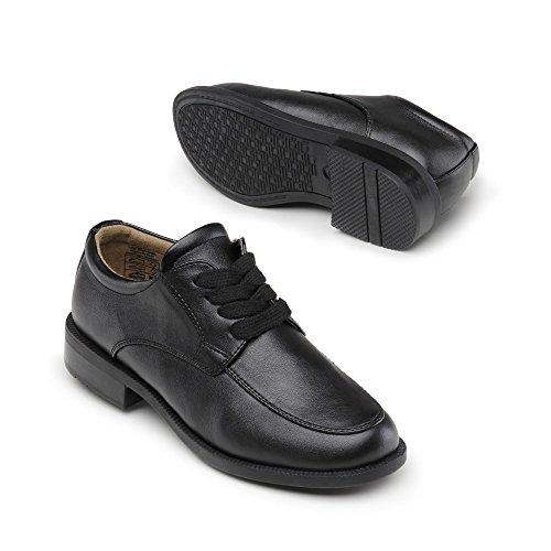 Indigo 431 123 Garçons Derby Chaussure Lacet Noir
