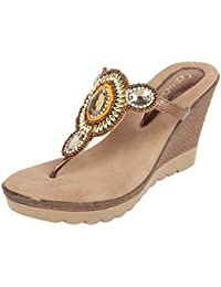 d73f8ae3dc99 Gold Women s Fashion Sandals  Buy Gold Women s Fashion Sandals ...