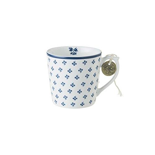 Laura Ashley Petit Fleur - Fine Bone China Cup Mug Porzellantasse Tasse Becher tazza taza 220ml, best quality - Can be washed in a dishwasher (Petite Bone China)