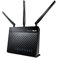 ASUS DSL-AC68U AC1900 Dual-Band Wireless VDSL/ADSL 2+ Gigabit Modem Router, USB 3.0 for Media Server for Phone Line Connections (BT Infinity, YouView, TalkTalk, EE and Plusnet Fibre)