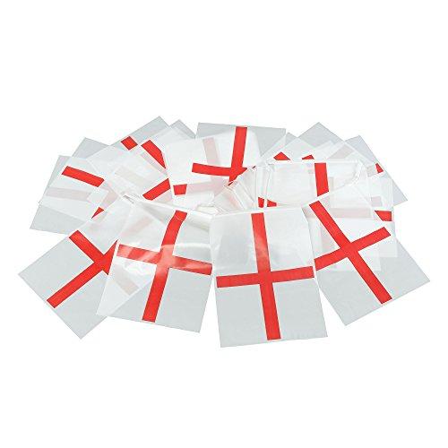 Bristol Novelty PG022 St Georg Fahnentuch, Rot/Weiß, Einheitsgröße