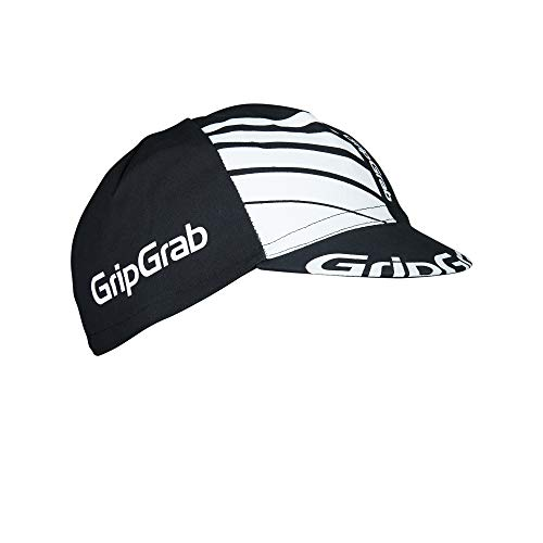 GripGrab Cycling Cap - Cycling Cap for Men, Black, One Size