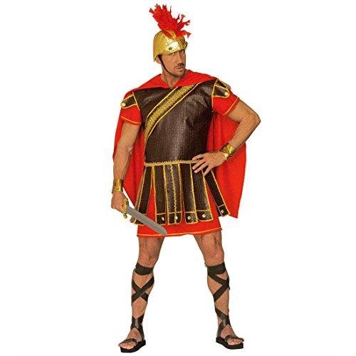 Kostüm Gladiator Deluxe - NET TOYS Kostüm Römer Feldherr Deluxe Feldherren Feldherrenkostüm Gladiator Prätorianer Fasching Karneval XL 54/56