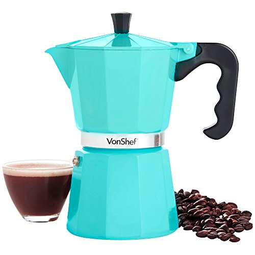 VonShef-Espresso-Coffee-Maker-Duck-Egg-6-Cup-300ml-Italian-Style-Moka-Stove-Top-Macchinetta-Includes-Replacement-Gasket-Filter