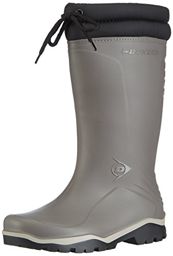 Dunlop K401061 GEV.LRS.BLIZZ GRYS 42, Unisex-Erwachsene Halbschaft Gummistiefel, Grau (Grau(Grijs) 06), 42 EU